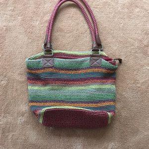 The Sak large crochet shoulder bag